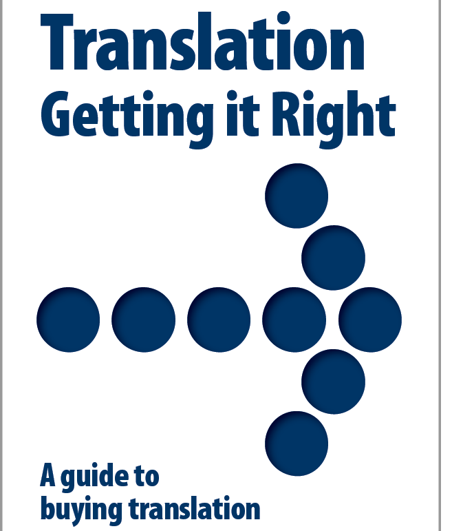 Translation: Getting it Right